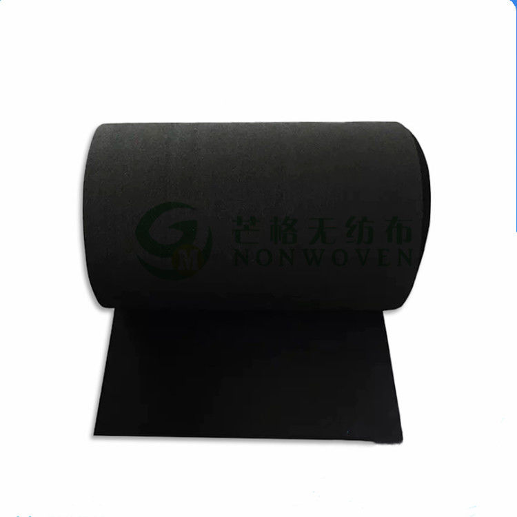 100 Polyester Activated Carbon Spunlace Nonwoven Fabric